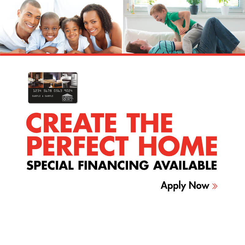 Create the perfect home. Special financing available, apply now!